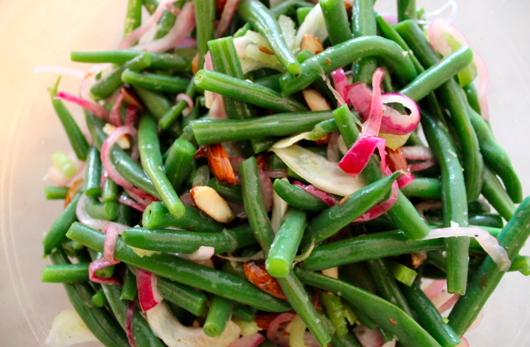 bean salad with fried quick green bean and quinoa pin green beans 2 ...